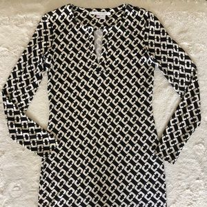 DVF tunic dress